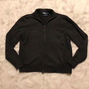 Ralph Lauren Polo Zip-Up Sweater